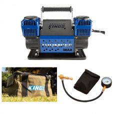 Thumper Max Dual Air Compressor + Tyre Deflator + Canvas Thumper Bag