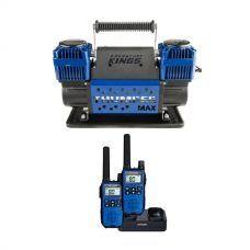 Thumper Max Dual Air Compressor + Oricom Handheld UHF CB Radio Twin Pack - UHF2190