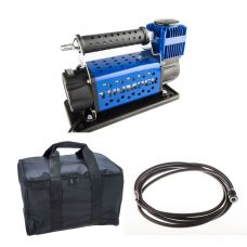 Thumper Air Compressor MkIII + Kings Polyester Air Compressor Bag + 12v Air Compressor Extension Hose