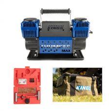 Thumper Max Dual Air Compressor + Tyre Repair Kit + Canvas Thumper Bag