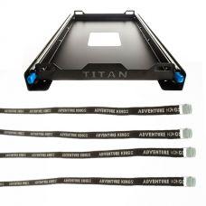 Titan 60L Fridge Slide + Adventure Kings Fridge Tie Down Straps (4 pack)