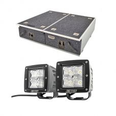"Titan Drawer System - 900mm + 3"" LED Work Light - Pair"
