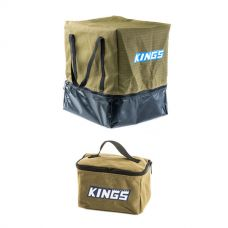 Adventure Kings Toiletry Canvas Bag + Camping Toilet Bag