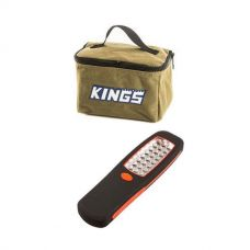 Adventure Kings Toiletry Canvas Bag + Kings LED Work Light