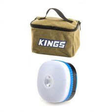 Adventure Kings Toiletry Canvas Bag + Adventure Kings Mini Lantern