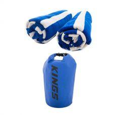 Adventure Kings Beach Towel Twin-Pack + 15L Dry Bag