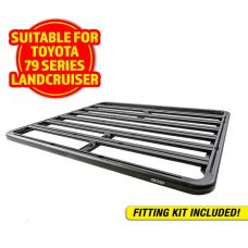 Adventure Kings Aluminium Platform Rack Suitable for Toyota Landcruiser 79 Series Dual-Cab