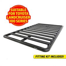 Adventure Kings Aluminium Platform Roof Rack Suitable for Toyota Landcruiser 100 Series 1998-2007