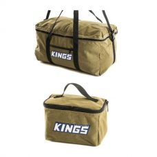 Adventure Kings Travel Canvas Bag + Toiletry Canvas Bag
