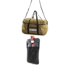 Adventure Kings Travel Canvas Bag + Solar Shower