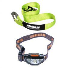 Hercules Tree Trunk Protector + Illuminator LED Head Torch
