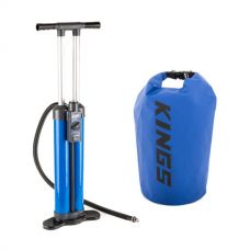 Triple-Action Inflatable Paddleboard Pump + 15L Dry Bag