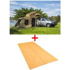 Adventure Kings Roof Top Tent + 6-man Annex + Mesh Flooring 6m x 3m