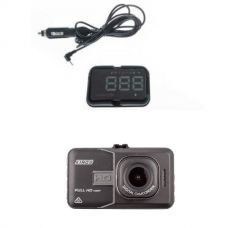 Adventure Kings Heads Up Display (HUD) + Adventure Kings GPS 1080 Dashcam Recorder