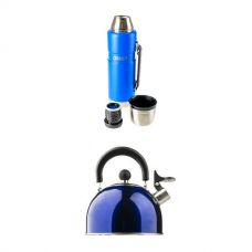 Kings 1.2L Vacuum Flask + Camping Kettle