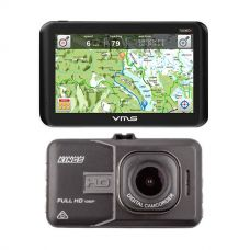 VMS Touring 700 HDX GPS + Adventure Kings Dash Camera