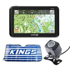 VMS Touring 700 HDX GPS + Reverse Camera + Sunshade