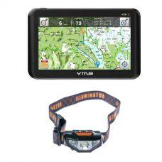 VMS Touring 700 HDX + Illuminator LED Head Torch