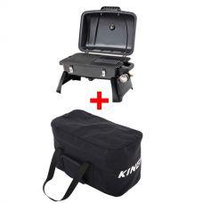 Gasmate Voyager Portable BBQ + 40L Duffle Bag