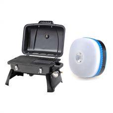 Gasmate Voyager Portable BBQ + Mini Lantern