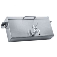 Kings Wood-Fired Water Boiler   For Kings Premium Camp Oven Stove   3L Capacity   Stainless Steel   Quarter Turn Tap
