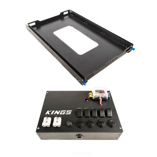 Adventure Kings Titan 100L Fridge Slide + 12V Control Box