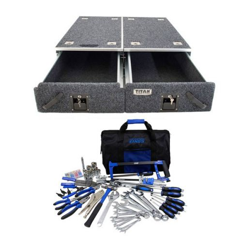 Titan Drawer System - 1070mm + Ultimate Bush Mechanic Tool Kit 150+ Pieces