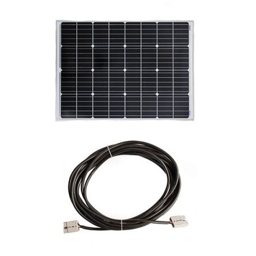 Adventure Kings 110w Fixed Solar Panel + 10m Lead For Solar Panel Extension