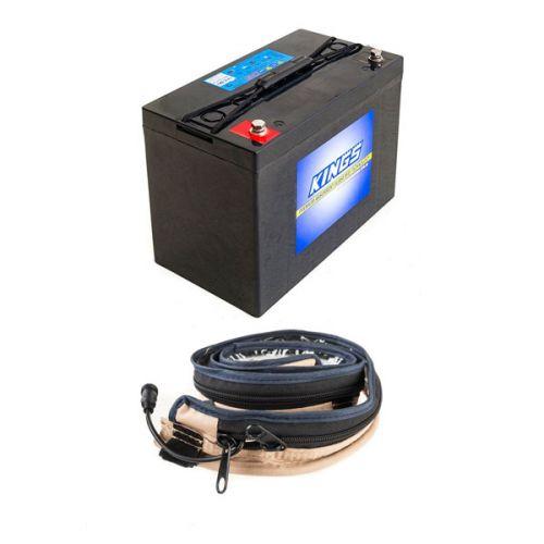 Adventure Kings AGM Deep Cycle Battery 115AH + LED Strip Light