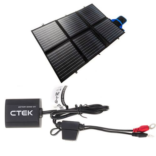 Adventure Kings 120W Portable Solar Blanket  + CTEK Battery Sense
