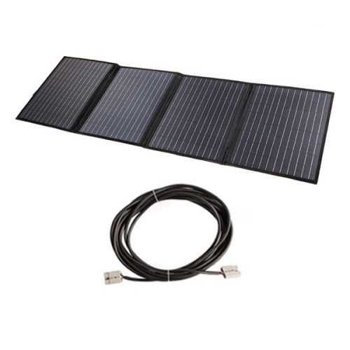 Adventure Kings 120W Solar Blanket with MPPT Regulator + 10m Lead For Solar Panel Extension