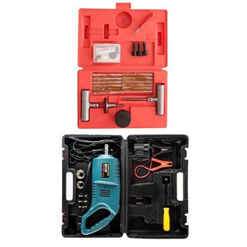 Hercules 12v Impact Wrench + Tyre Repair Kit