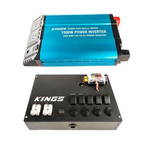 Adventure Kings 1500W Inverter + 12V Control Box