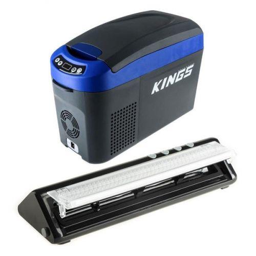 Adventure Kings 15L Centre Console Fridge/Freezer + Vacuum Sealer