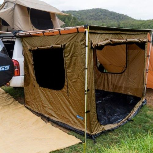 Kings Tent for 2x2.5m Awning | Waterproof | Fully Enclosed | Bucket Floor