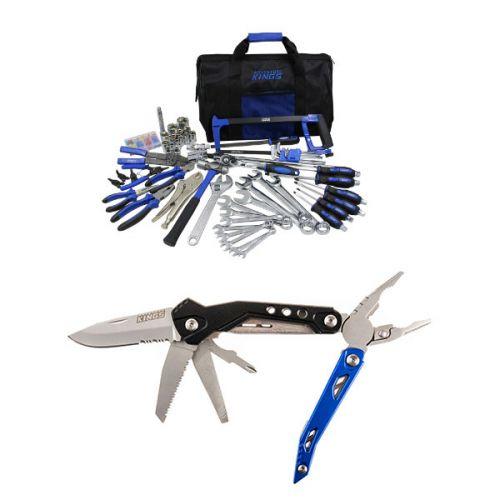 Adventure Kings Tool Kit - Ultimate Bush Mechanic + Adventure Kings 18-in-1 Multi-Tool