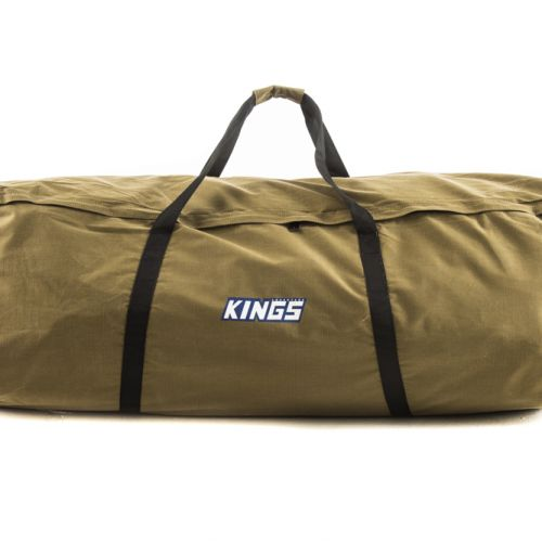 Kings Oversized Swag Bag | Fits All Double Swags | 400GSM Canvas | Heavy-Duty Zippers | Waterproof