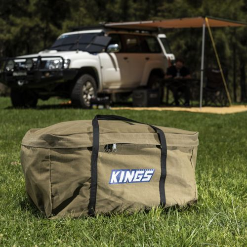 Kings Campfire BBQ Bag | Heavy-Duty Canvas | Protect Your BBQ
