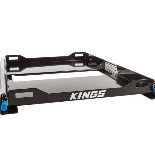 Kings Fridge Slide  Suits Up To 60L Fridges   Twin Locking Runners   Heavy-Duty