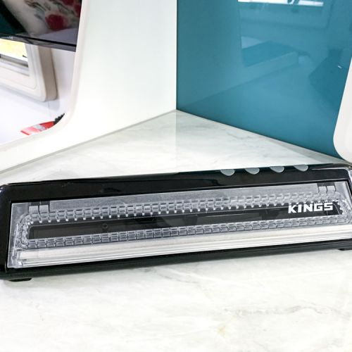 Kings Vacuum Sealer | For Camping & Home Use | Inc. 10 Re-Usable Bags | 240v