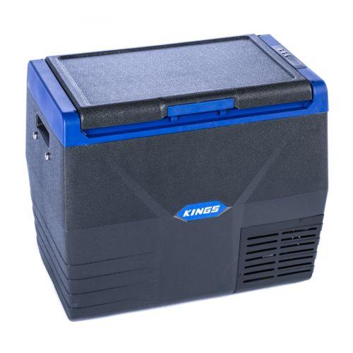 Kings 35L Portable Fridge/Freezer | 12v/24v/240v | -18c to +10c | Heavy Duty Construction