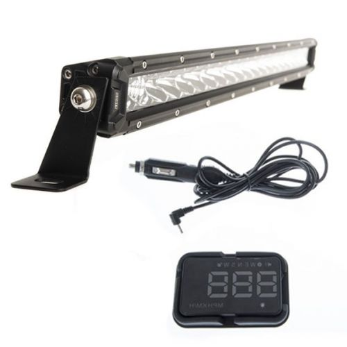 "Kings 20"" LETHAL MKIII Slim Line LED Light Bar + Heads Up Display (HUD)"