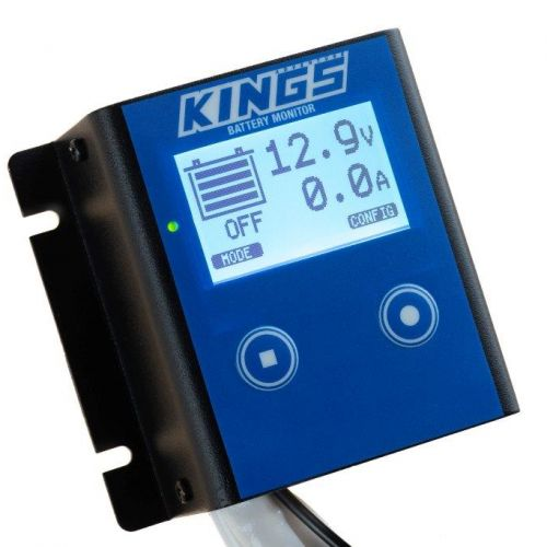 Kings 12V Battery Monitor | Easy DIY Install | Adjustable Low-Voltage Cut off | LCD Display