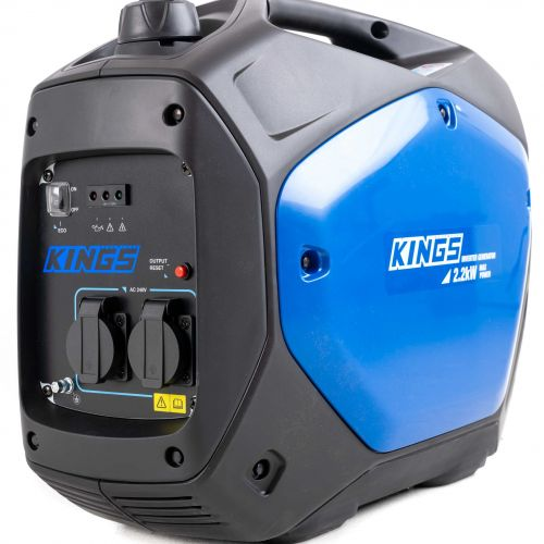 Adventure Kings 2.0kVA Inverter Generator | 2000W Continuous Power Rating | 2200W Peak Power Rating | 2yr Warranty