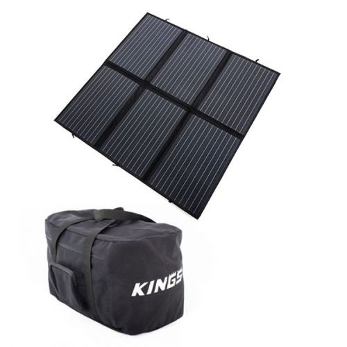 Adventure Kings 200W Solar Blanket with MPPT + 40L Duffle Bag