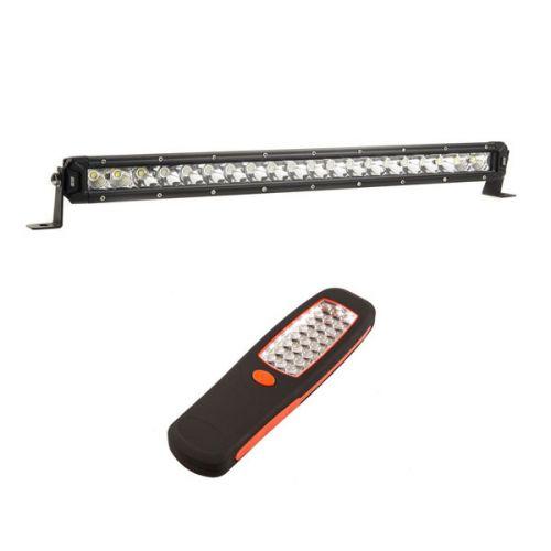 "Kings 20"" LETHAL MKIII Slim Line LED Light Bar + LED Work Light"