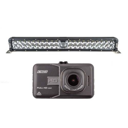 "Adventure Kings 24"" Laser Light Bar + Dash Camera"