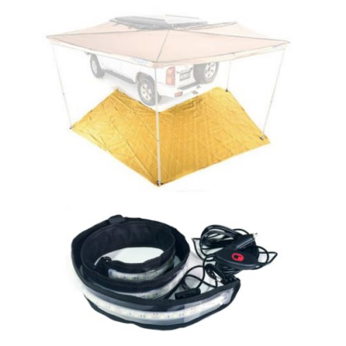 King Wing Mesh Floor + Illuminator MAX LED Strip Light