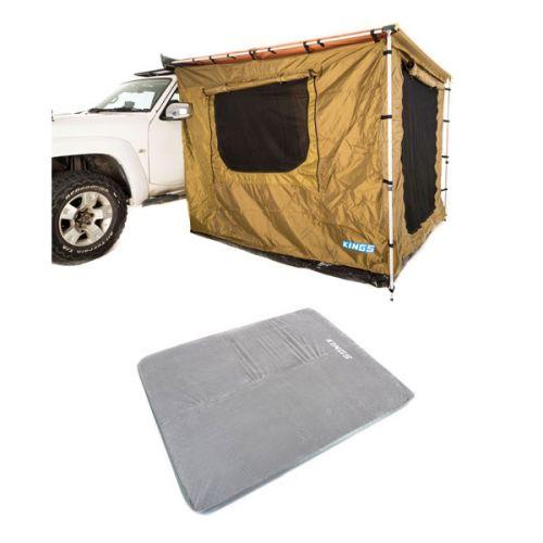 Adventure Kings 2x3m Awning Tent + Self Inflating Foam Mattress