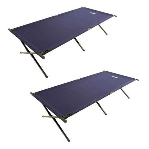 2x Adventure Kings Camping Stretcher Bed